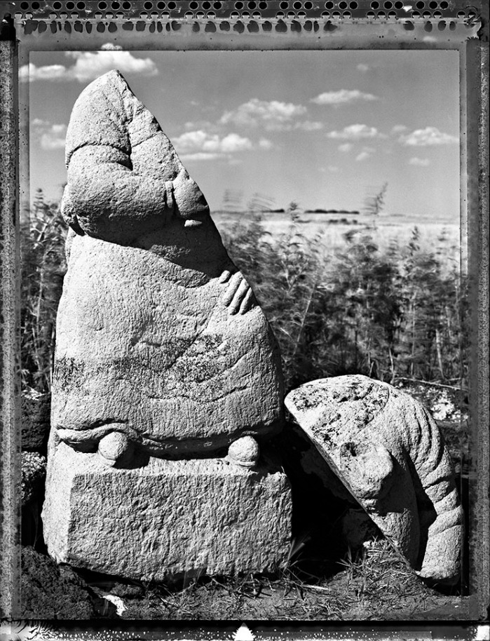 Half Man Stone, Mongolia 2004 (page 129 in book)