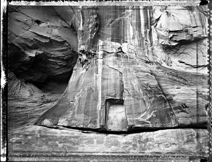 Stone Entrance, Grand Gulch, US 1989 (page 13 in book)