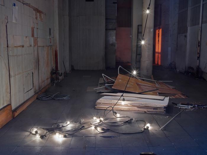 String of Lights, Harlem, NYC